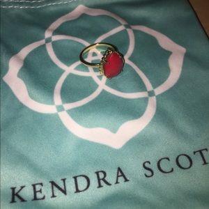 Kendra Scott Teardrop Gold Ring